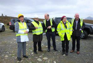 Visit of Danish Ambassador to Gweedore Windfarm