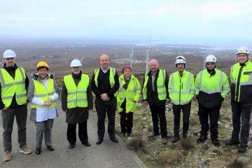 Gweedore Windfarm - Denmark Ambassador Visit